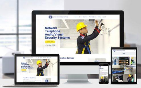 Bash Creative Design Portfolio - Toronto Website Designer - Accord Reconnection Services